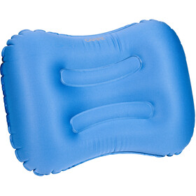 CAMPZ Rectangular Air Pillow, blue/grey